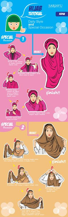Hijab Tutorial for Special Occasion