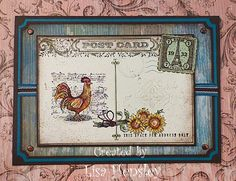 Provencal, Winter Post, Itty Bitty Backgrounds, & Postage Due stamp sets