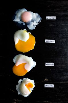 """Perfectly baked """"poached"""" eggs. Called sauna eggs, where your yolk ends up in """"50 shades of yellow"""" and is most delicious. Save water and do this while you do other things around the house. So simple! #Egg #Poach #Poached"""