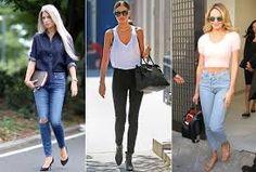 Resultado de imagem para modelos de calça cintura alta