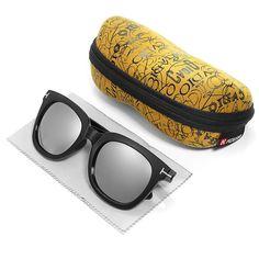 88514fdf89 KDEAM KD01 Polarized Sunglasses UV400 Square Outdoor Cycling Driving  Sunglasses For Men Women