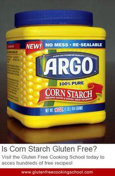 Is Corn Starch Gluten Free?