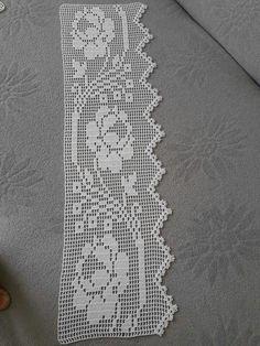 Very Liked Bedroom Duvet Cover Set Lace Models - Stricken Filet Crochet, Crochet Lace Edging, Crochet Borders, Thread Crochet, Crochet Trim, Crochet Stitches, Crochet Baby, Knitting For Kids, Baby Knitting Patterns
