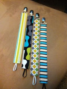 Bits on the Butlers: Pacifier Clip Tutorial. So fast, so cute, I made a whole bunch of them.