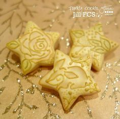 Star Cookies -- Jill FCS Inspired by artwork from Teagan White