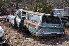 1963 Rambler Classic 660 Cross-Country at McLean's Auto Wreckers