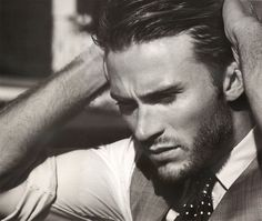 Eastwood Poolside–Man of the World capitalizes on actor Scott Eastwood's recent buzz with a spread in their latest issue. Photographed by Randall Mesdon