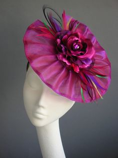Pretty in pink - Fabulous 'Miss Audrey' in #fuchsia