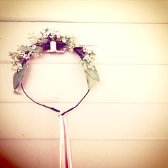 hair pieces for the flower girls...