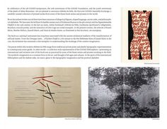 Alchimie du Verbe - Publications - Codex Foundation. Martha Hellion, screenprint on silver foil. 2014