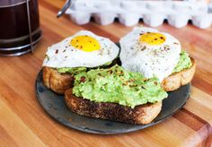 """food-porn-diary: """" Simple avocado toast for brunch today. [OC] [4755 × 3316] """""""