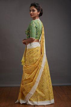 Seamstress collections, Seamstress collections from kerala, balaramapuram sarees, balaramapuram sari weaving, balarampuram handwoven technique, balarampuram weaving history, handwoven balaramapuram, kasavu sarees, tikli.in, tikliwali, tikli fashion, tikli blog, tikli fashion blog, tikli shopping destination, tikli event, tikli.in collections