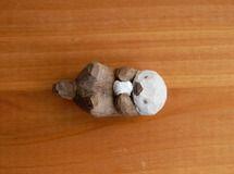 木彫り人形 ラッコ  [MWF-005]