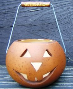Check out Boyds Bears Halloween Pumpkin Jack O Lantern Bucket with Handle Retired 1996    http://www.ebay.com/itm/Boyds-Bears-Halloween-Pumpkin-Jack-O-Lantern-Bucket-Handle-Retired-1996-/162403255907?roken=cUgayN&soutkn=tPnAYo via @eBay