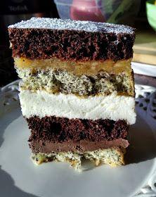 "Takie tam moje pomysły: Ciasto ""Piasek pustyni"" Polish Recipes, Polish Food, Good Food, Yummy Food, Tiramisu, Ale, Birthday Cake, Sweets, Healthy Recipes"