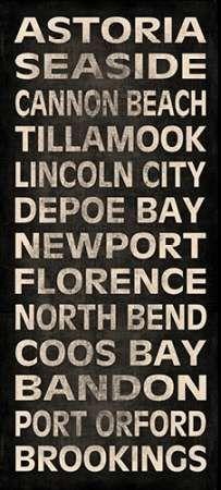 Oregon Coast II Art Print