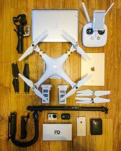 My #aerialphotography #gear !!!! #dji #djicreator #djiglobal #djiphantom3 #phantom3 #phantom3professional #gopro #apple #iphone #ipad #mypassport #djiosmo #osmo #floridalife #goprohero4