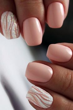 False nails have the advantage of offering a manicure worthy of the most advanced backstage and to hold longer than a simple nail polish. The problem is how to remove them without damaging your nails. Pink Wedding Nails, Pink Nails, Perfect Nails, Perfect Pink, French Manicure Short Nails, Hair And Nails, My Nails, Vacation Nails, Bride Nails