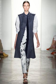 Ostwald Helgason (Spring-Summer 2015) R-T-W collection at New York Fashion Week  #AdriannaZajdler #AineOGorman #AlmaDurand #AnastasijaTitko #CaterinaRavaglia #FrancesCoombe #GwenLoos #JanicaCompte #JeniaIerokhina #JosefinGustafsson #JuanaBurga #JuliaFuchs #JulietteFazekas #KasiaKrol #LarissaMascarenhas #NewYork #OstwaldHelgason #SarahEngelland #SigneRasmussen