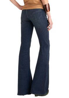 1ebe3a1d68f5d Dittos Flare Play Jeans   Mod Retro Vintage Pants   ModCloth.com (I don