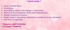 ♪ Rayo Rosa.