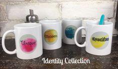 Christian Bible Identity Truth Mug Gift Set - Unique Chosen I am Enough Creative www.holyhope.co.uk