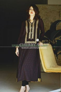 Cherry Wrap Winter Collection For Women Pakistani Dresses, Indian Dresses, Simple Dresses, Casual Dresses, Desi Wear, Desi Clothes, Suit Fashion, Fashion Clothes, Indian Attire