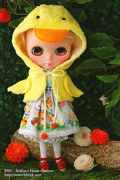 THIS IS BLYTHE - Happy Duck Sister dress set