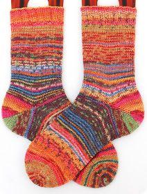 ... die Happy Scrappy's haben sich ja wunderbar etabliert. Ganz viele sind auf den Zug aufgesprungen und es kommen immer soooo tolle Socken ...