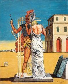 Giorgio De Chirico - Pianto d'Amore