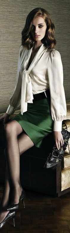 I have this outfit. Its been sitting in the back of my closet since the eighties! What was once old is new again.