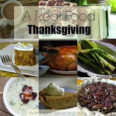 Great recipes for a real food Thanksgiving!!!: