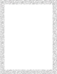 Printable silver glitter border. Use the border in Microsoft Word or other programs for creating flyers, invitations, and other printables. Free GIF, JPG, PDF, and PNG downloads at http://pageborders.org/download/silver-glitter-border/
