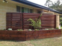 Planter Box constructed onsite to hide rainwater tank and pump - The Make It Happen Guy!, Handyman, Nerang, QLD, 4211 - TrueLocal
