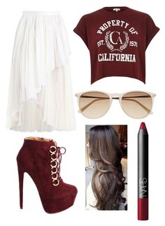 Untitled #85 by ana-gabriela801 on Polyvore featuring polyvore, fashion, style, River Island, Zimmermann, Charlotte Russe, Witchery and NARS Cosmetics