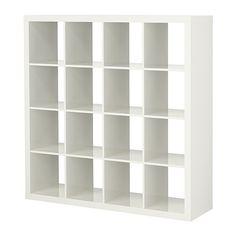 EXPEDIT Estantería - alto brillo blanco - IKEA.