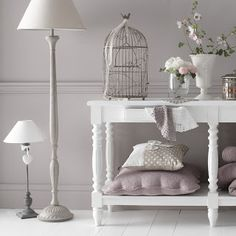 chambre romantique shabby chic more decor jaulas decor home decor ...