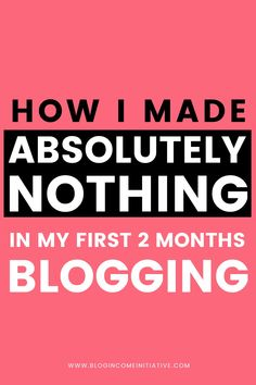 Are you struggling to Grow your Blog & Make Money? Click to discover the 8 Blogging Mistakes I was Making in my First Month Blogging. Are you Making these Mistakes too?...