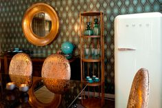 Wallpaper & Accessories. Corporate Space design for RMB. Charli Paci Couture Interiors. South Africa.