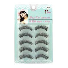 21.56$  Watch now - http://alib5d.shopchina.info/go.php?t=32788335183 - 12Pcs 5 pair Beauty Makeup False Eyelashes Black Nautral Handmade Eye Lashes Cosmetic 21.56$ #bestbuy