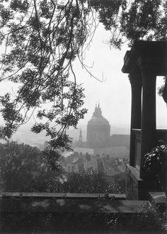 Prague from the Na Valech Garden, Josef Sudek. Czech (1896 - 1976)