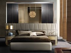 Yatak başlıgı Luxury Bedroom Design, Bedroom Bed Design, Home Room Design, Bedroom Ideas, Bedroom Designs, Interior Design, Master Bedroom, House Design, House Beds