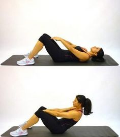 best abs exercises to get a six pack ab in a month #BestAbsExercises
