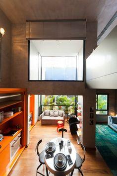 VOX Vila Olímpia - Foto do apartamento decorado.