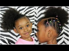 Piggy back side ponytail hairstyles for kids girls hair stuf Braided Hairstyles For Teens, Side Ponytail Hairstyles, Lil Girl Hairstyles, Teenage Hairstyles, Natural Hairstyles For Kids, My Hairstyle, Natural Hair Styles, Short Hair Styles, Black Hairstyle