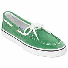 a048be4fabca John s Bay® Inlet Mens Boat Shoes (Green) - jcpenney