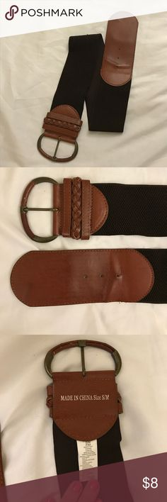 Women's Brown Belt - Small - Stretchy - Great Cond Women's Brown Belt - Small - Stretchy - Great Condition Accessories Belts