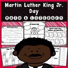 Help your students learn about and celebrate Dr. Martin Luther King Jr. with this engaging, NO-PREP activity pack! The following activities are included:Bubble mapKWL ChartI Have a Dream writing prompt (3 options)All About MLK writing prompt (3 options)I can Change the world Writing prompt (3 options)Fill in the blank MLK Passage (2 options)MLK - ABC OrderMLK  Syllables sortAddition and subtraction (3 options)Comparing numbers (4 options)time (2 options)money (options)