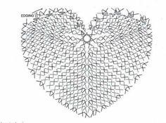 Pretta Crochet: Porta copo de coração