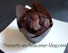 Gros muffins Chocolat & pépites de choco, comme Starbucks